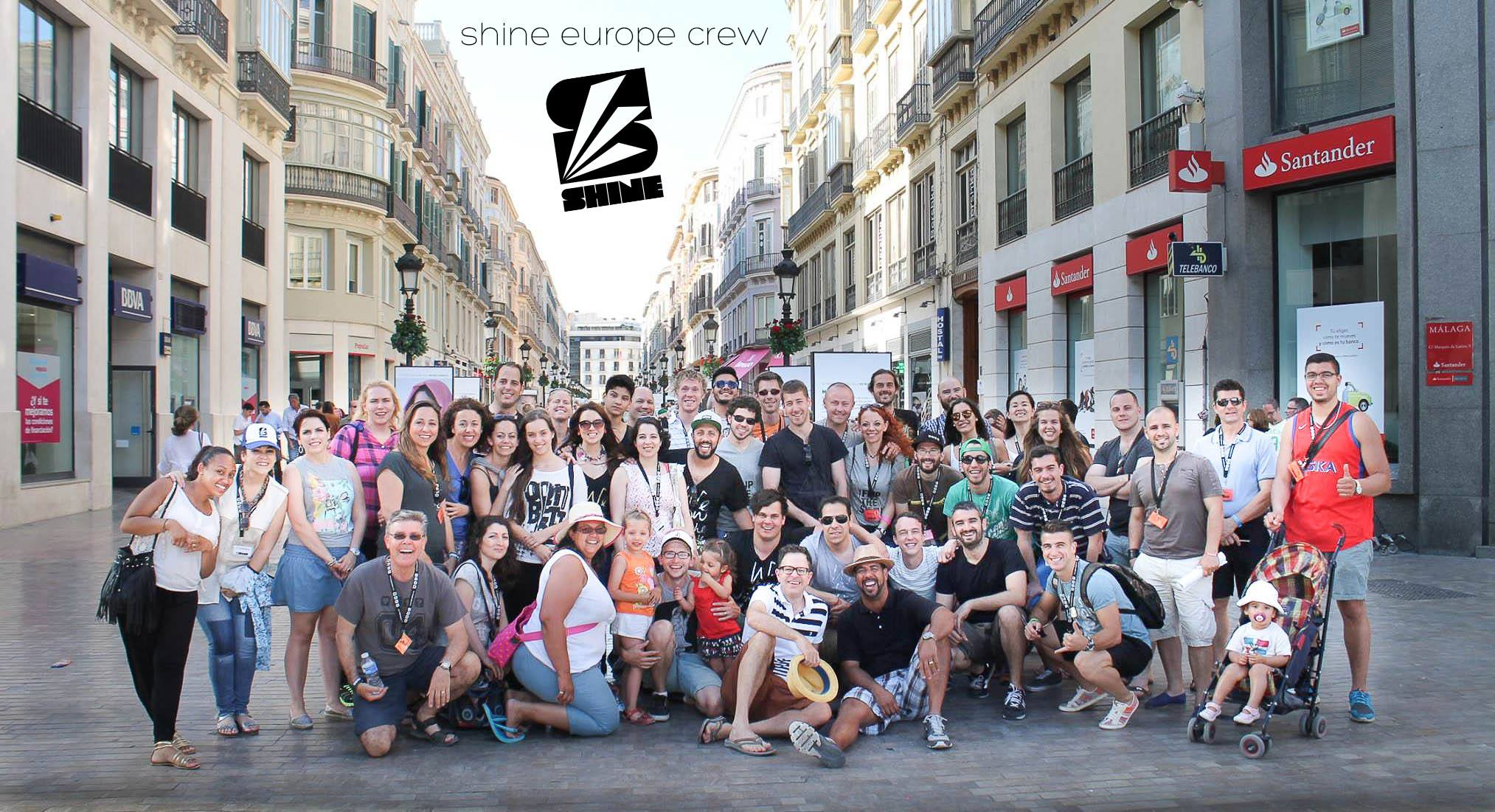 shine europe crew